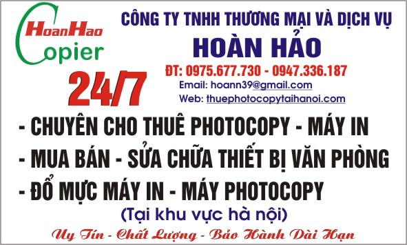 cho thue may photocopy Ricoh chinh hang